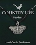 Butterfly Pendant - Pewter